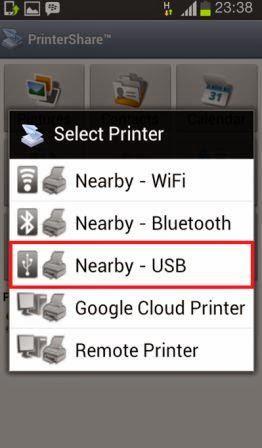 Cara Ngeprint Dari Smartphone Android Melalui USB OTG