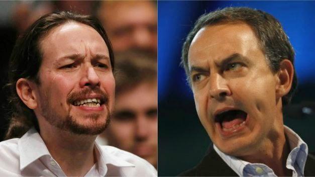 Zapatero y sus siniestras reuniones pablo iglesias, podemos