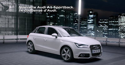 Communication Audi France, Audi A1- 1 millimètre
