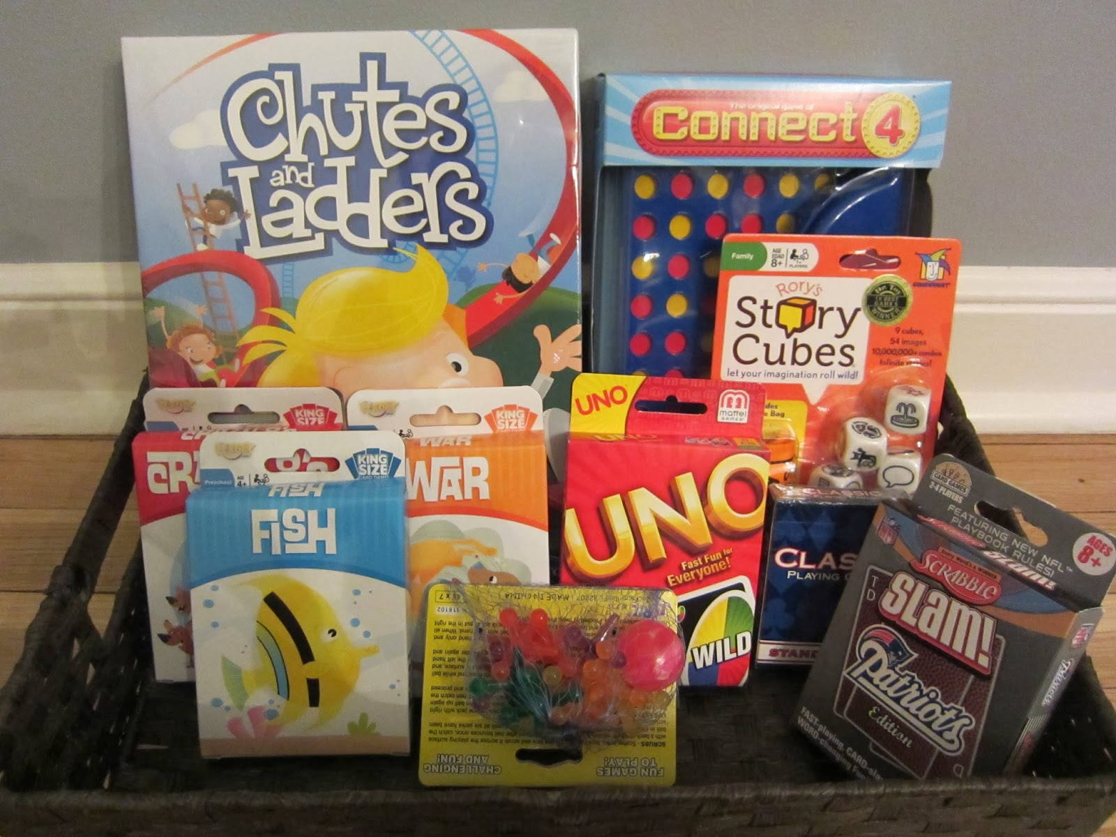 Best Family Game Night With Gift Basket