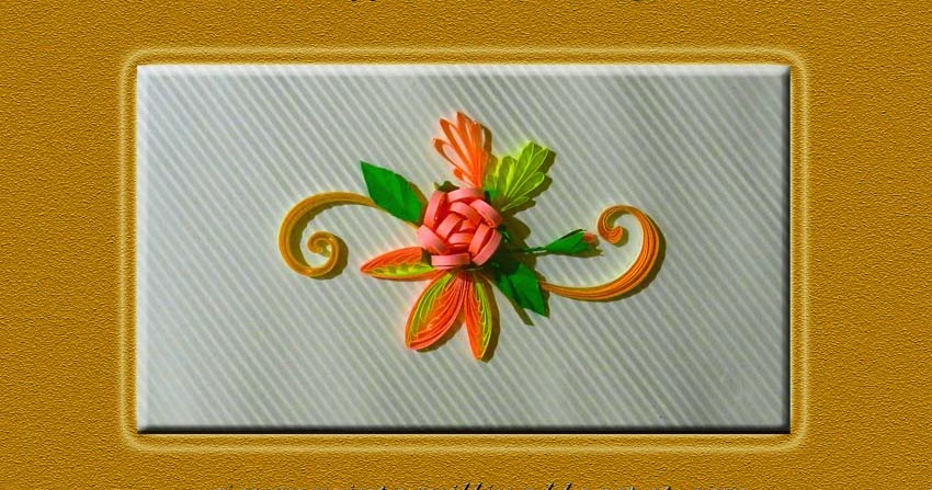 Flowers Using Comb A Journey Into Quilling Paper Crafting Quilled