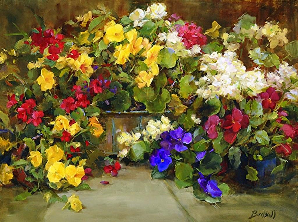 flores-cuadro-pintados-al-oleo