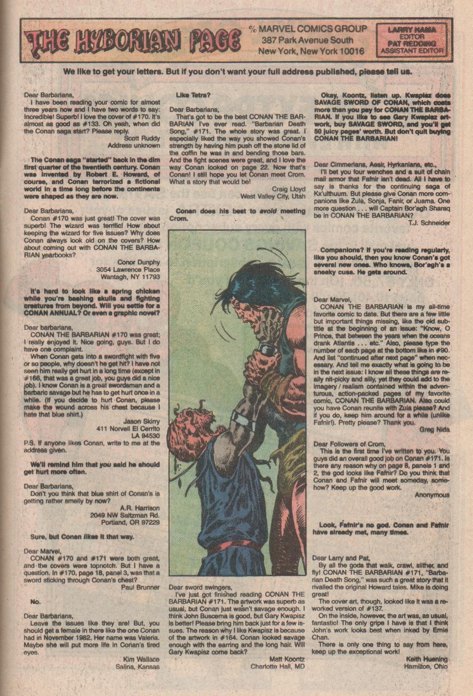 Conan the Barbarian (1970) Issue #175 #187 - English 24