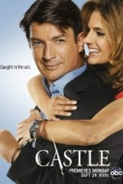 imagen cartel serie Castle