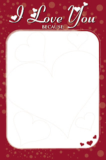 DIY Valentine/Love Frame