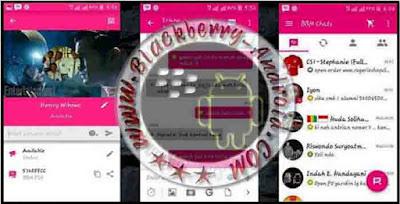BBM Mod Themes PINKO Backup Free Sticker Versi 2.9.0.45 Apk