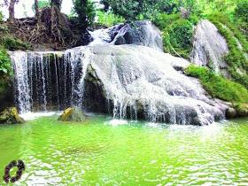 Foto Keren Foto Keindahan Air terjun Lembah Bongok.