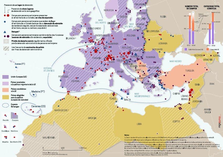 CIEs en Europa