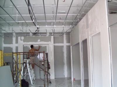 gypsum board installation images
