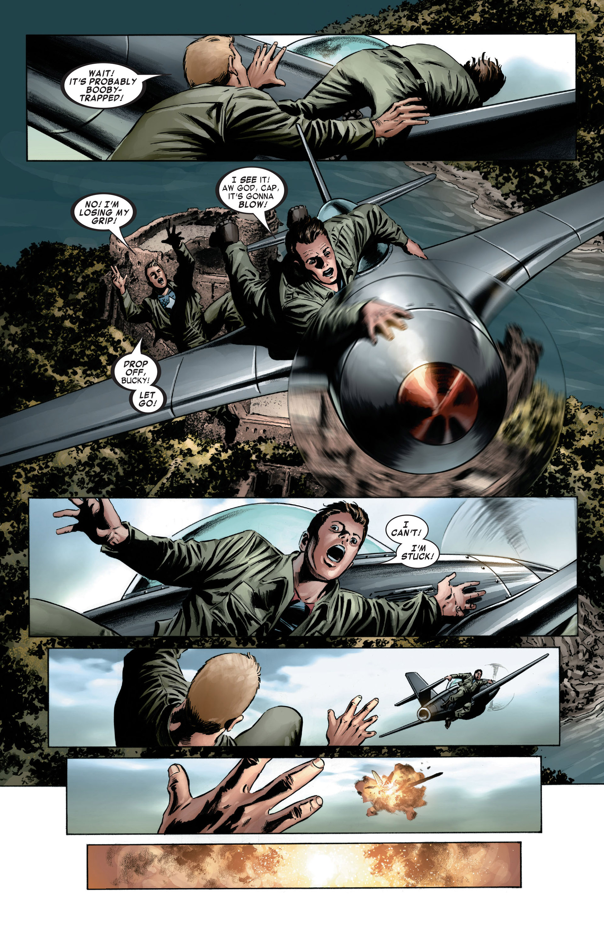 Captain America (2005) Issue #6 #6 - English 12