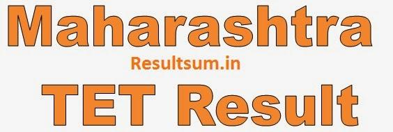 Maharashtra TET Result 2015