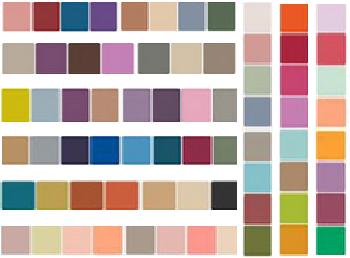 I colori 2015 nell'arredamento