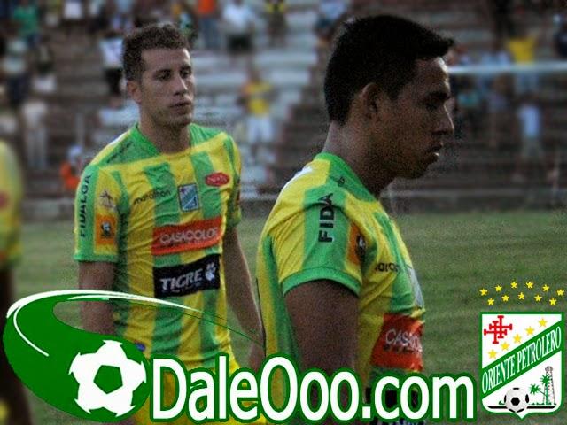 Oriente Petrolero - Mariano Brau - Rodrigo Vargas - DaleOoo.com página del Club Oriente Petrolero