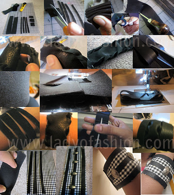DIY Bands Cuffs Stylish
