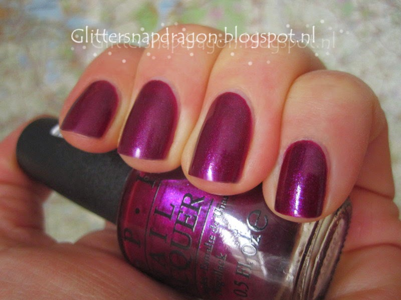 OPI Pulled Out a Plum