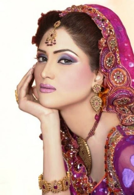 Fiza Ali Bridal Photoshoot www.fashion-beautyzone.blogspot.com