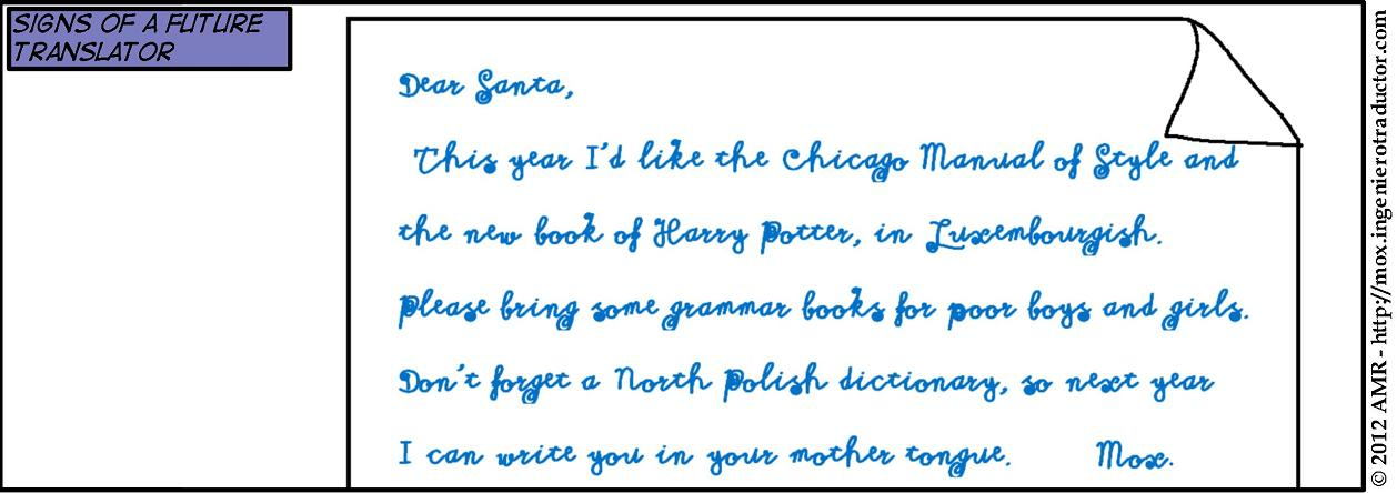 letter to santa from a future translator