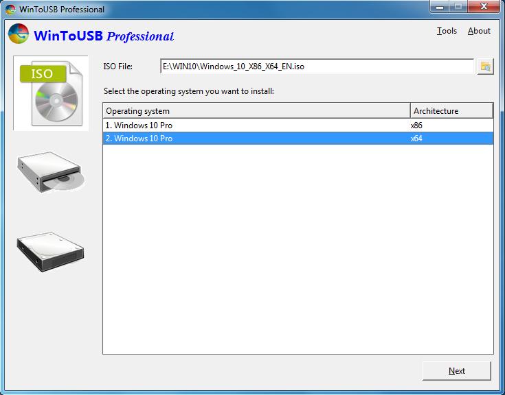 WinToUSB Enterprise 2.6 indir USB Windows Çalıştırma ...