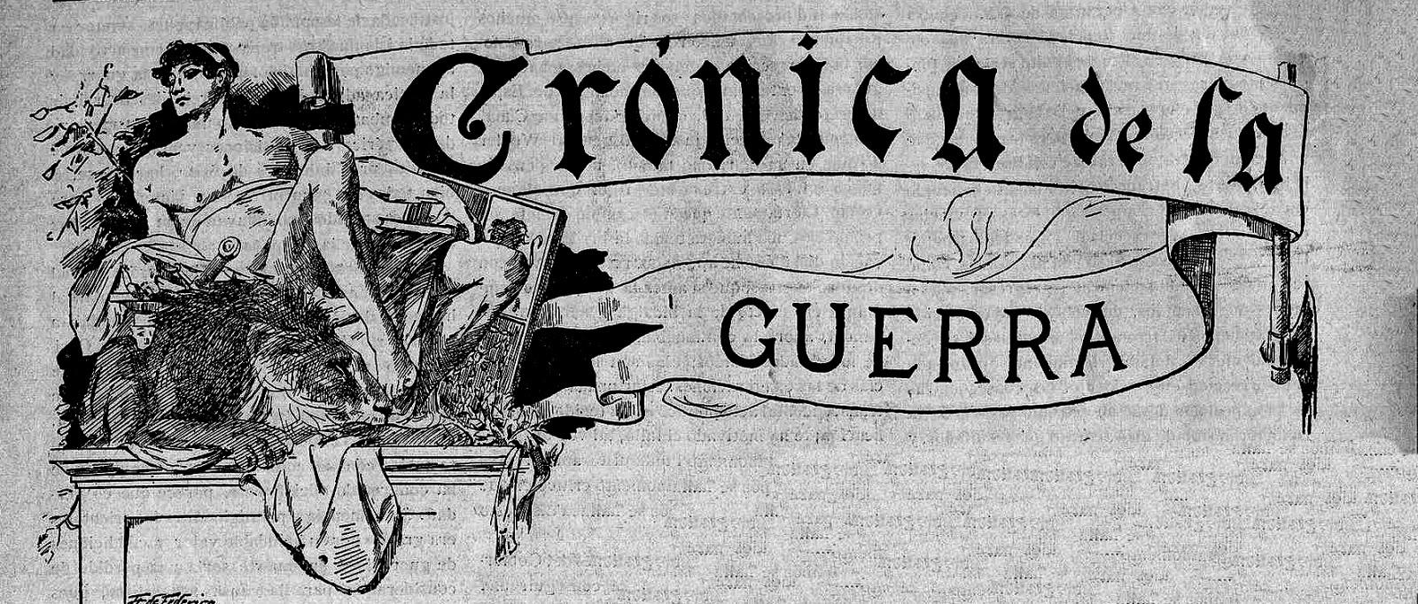 Un titular de una revista de 1898