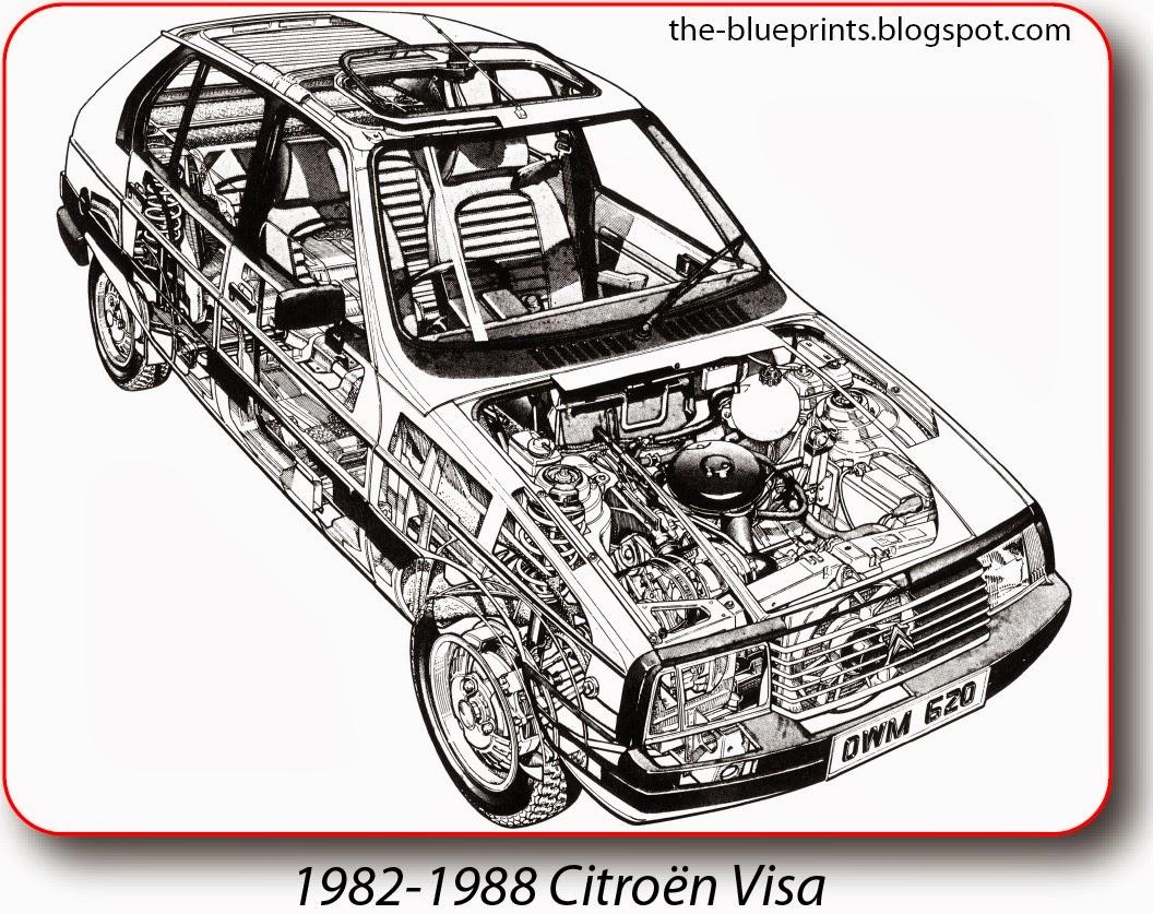 Vector blueprints cars trucks busses and others citroen borislav rusev 1752 malvernweather Images