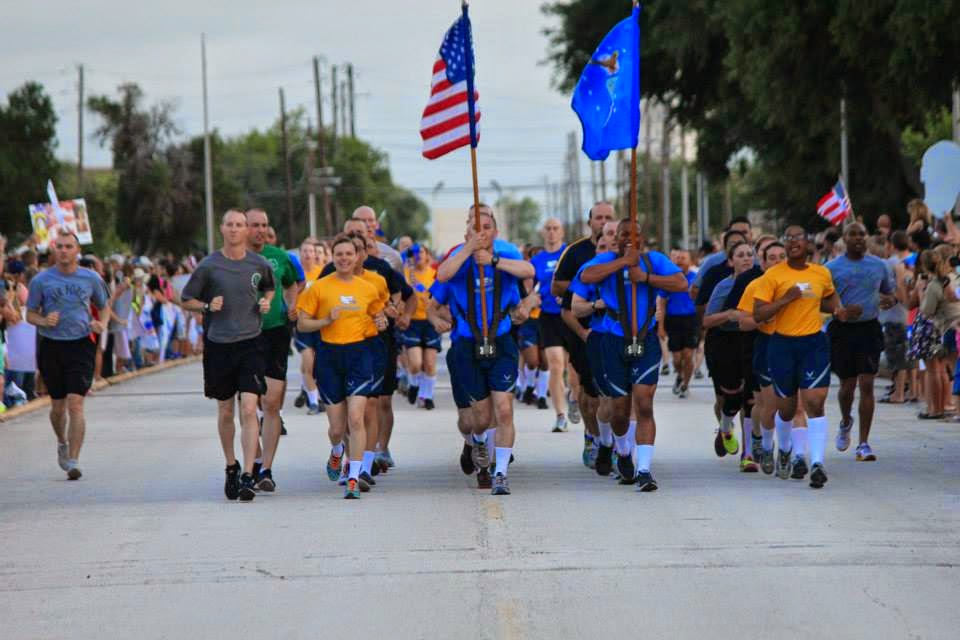 BMT PT, Air Force BMT Physical Training, Airman's Run