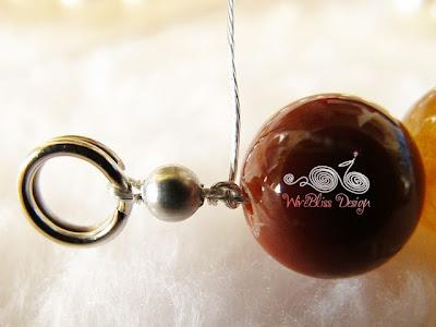 Split ring for Bracelet by Wirebliss