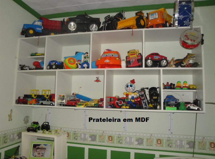 Luciano Martins Marcenaria prateleira MDF