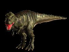 Tyrannosaurus Dark Brown
