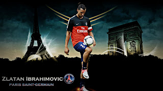 zlatan ibrahimovic PSG  BY maceme wallpaper