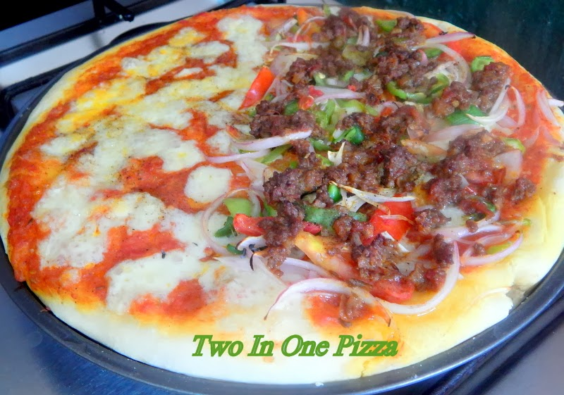 Fiesta Style Two In One Pizza