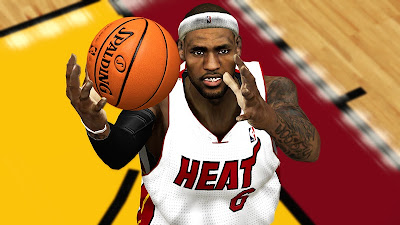NBA 2K13 LeBron James Cyberface Mod www.nba2k.org