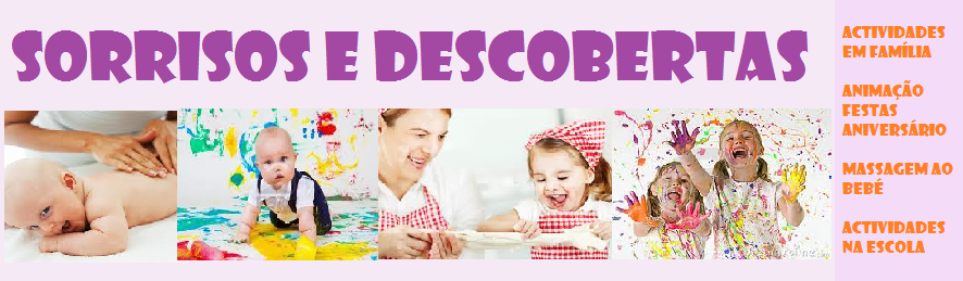 SORRISOS E DESCOBERTAS