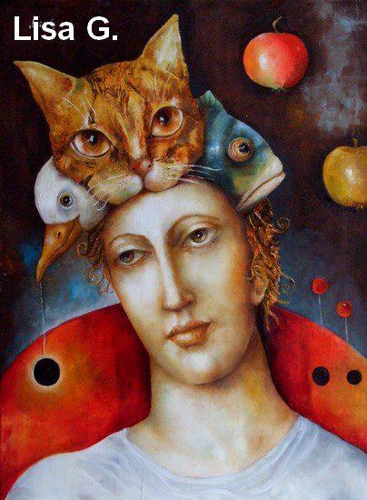 Lisa g peintre arte