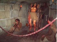 Museo de Cera de Madrid Pasaje del terror inquisición