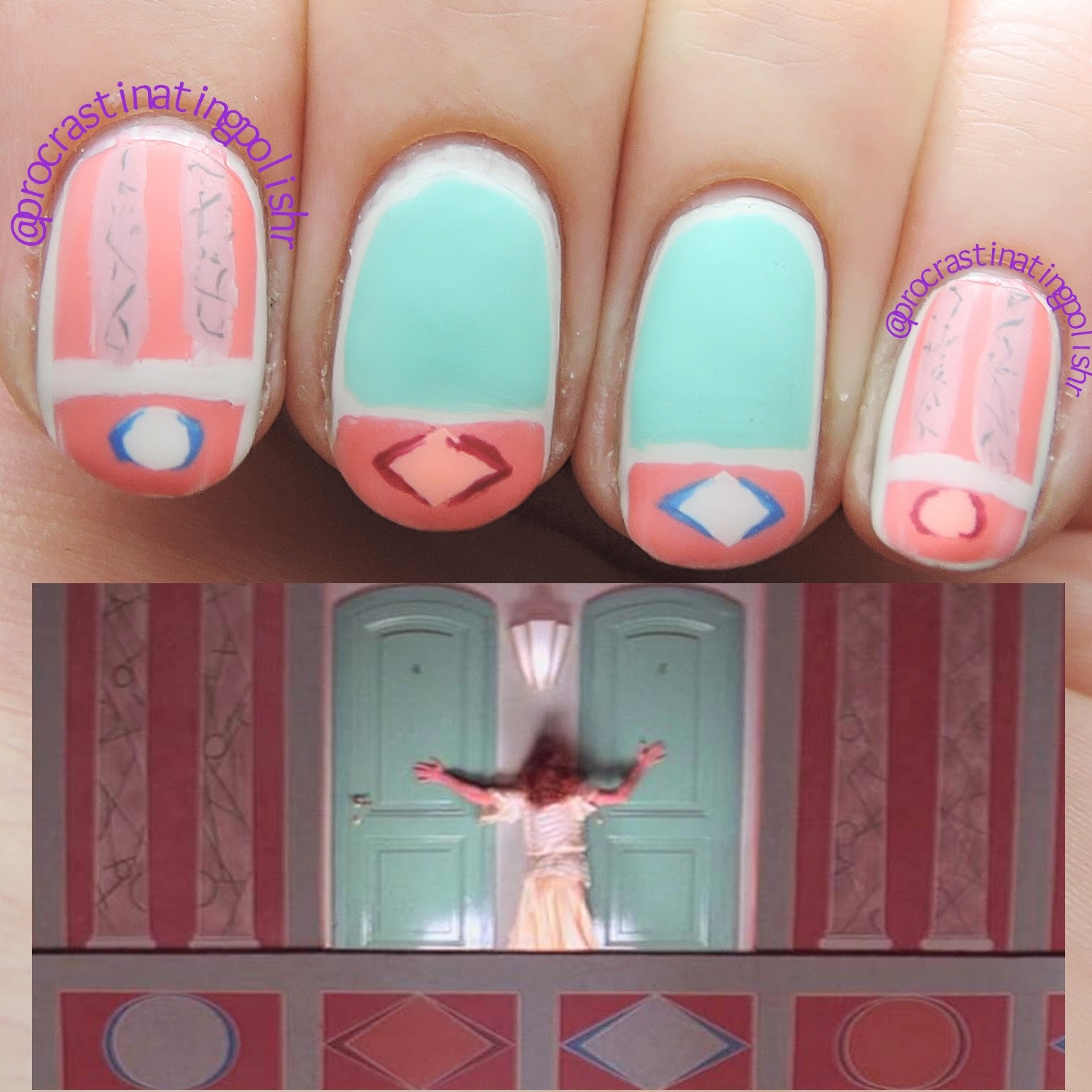 Suspiria Nail Art 31 Day Challenge 2014 Inspired by a Movie