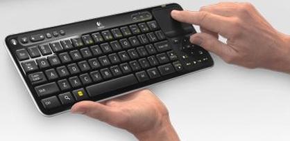 O controle do Google TV tem função de tv e também de mouse e teclado