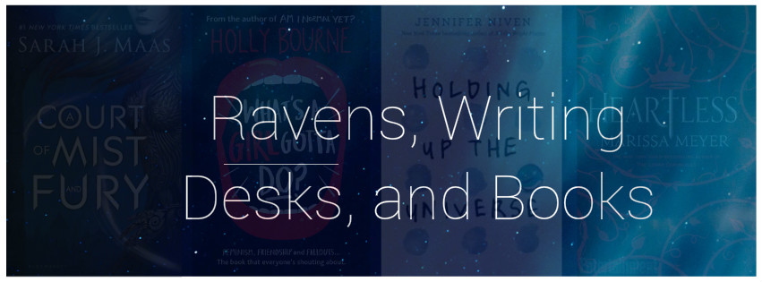 Ravens, Writing Desks and Books