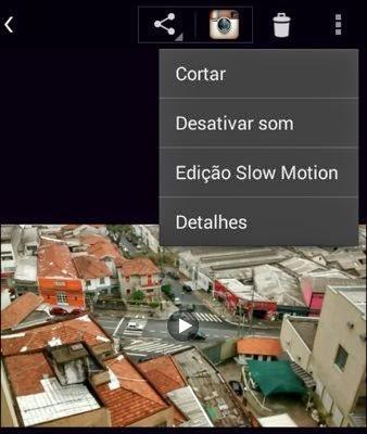 O recurso Edição Slow Motion do Moto E permite deixar partes de um clique em câmera lenta