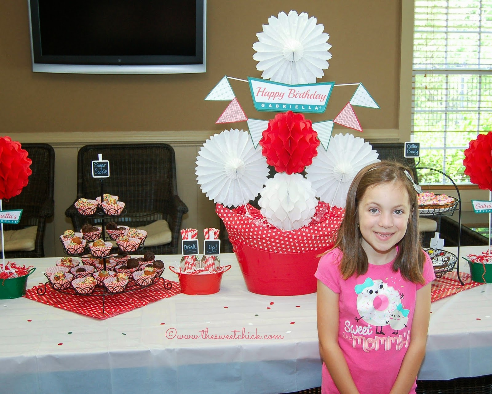 Krispy Kreme Birthday Party By The Sweet Chick