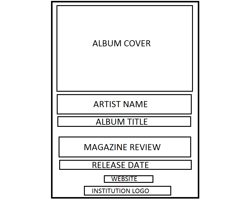 a RUNAWAY production: Planning: Magzine Advert Template