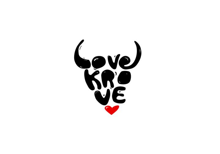 Love Krove logo, Krakow