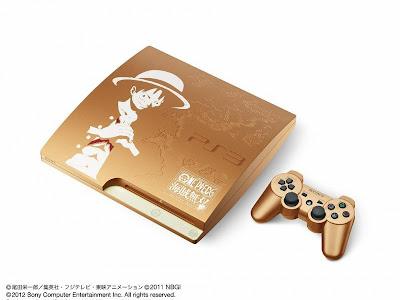 """PS3 Edicion Especial DORADA de One Piece """"Kaizoku Musou"""""""
