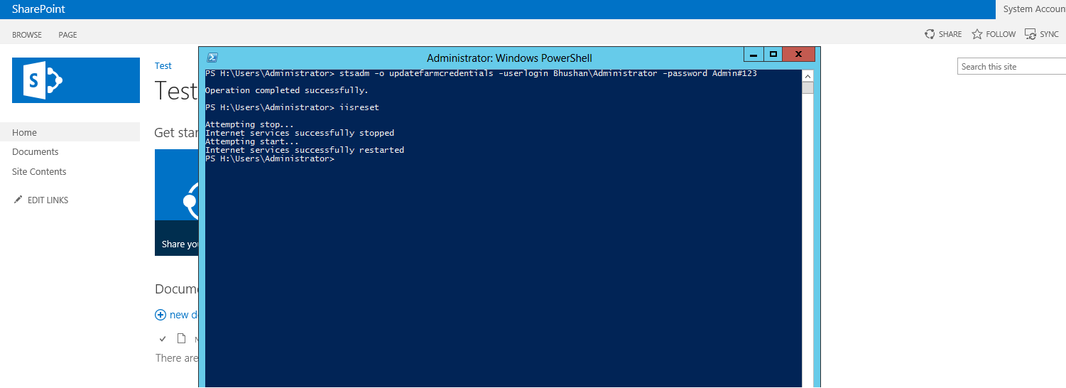 User password expiration powershell - The Above Problem Occur When Farm Account Password Is Expire And It S Password Is Changed Or Simply Farm Account Password Is Changed