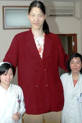 La mujer más alta del Mundo.