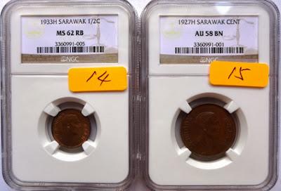 Sarawak 1 Cent 1927H