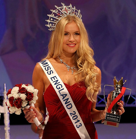 Miss England World 2013 winner Kirsty Rose Heslewood