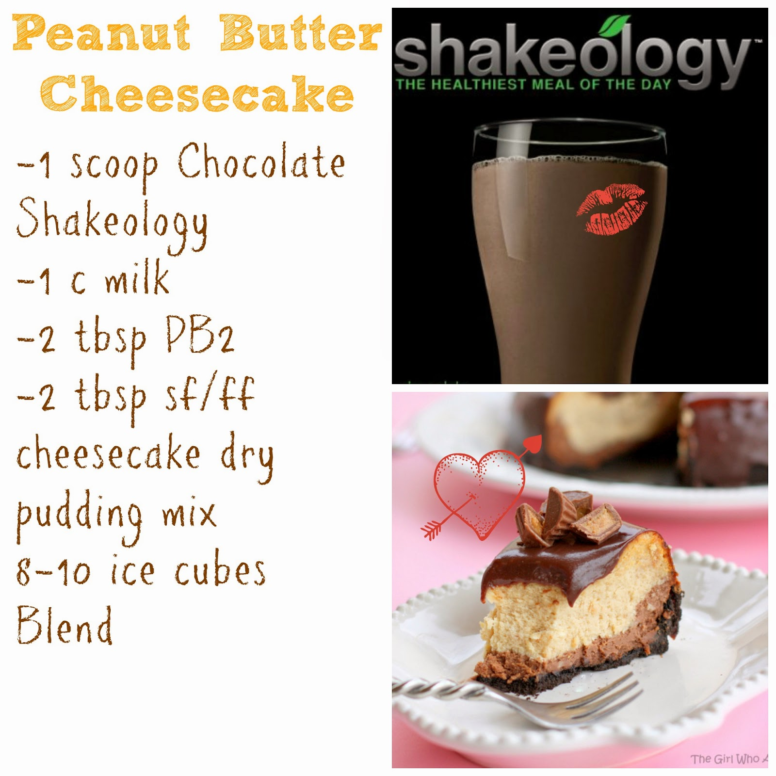 peanut butter, cheesecake, shakeology, recipe, weight loss, weight watchers, beachbody, Erin Traill