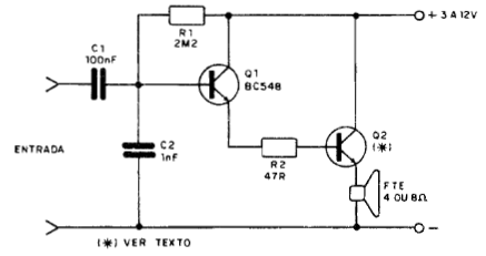 32154 Gen Light besides Page2 in addition Audio  lifiers From Class A To T also Active Fm Antenna Booster together with 12v To 6v Circuit. on simple amp schematics
