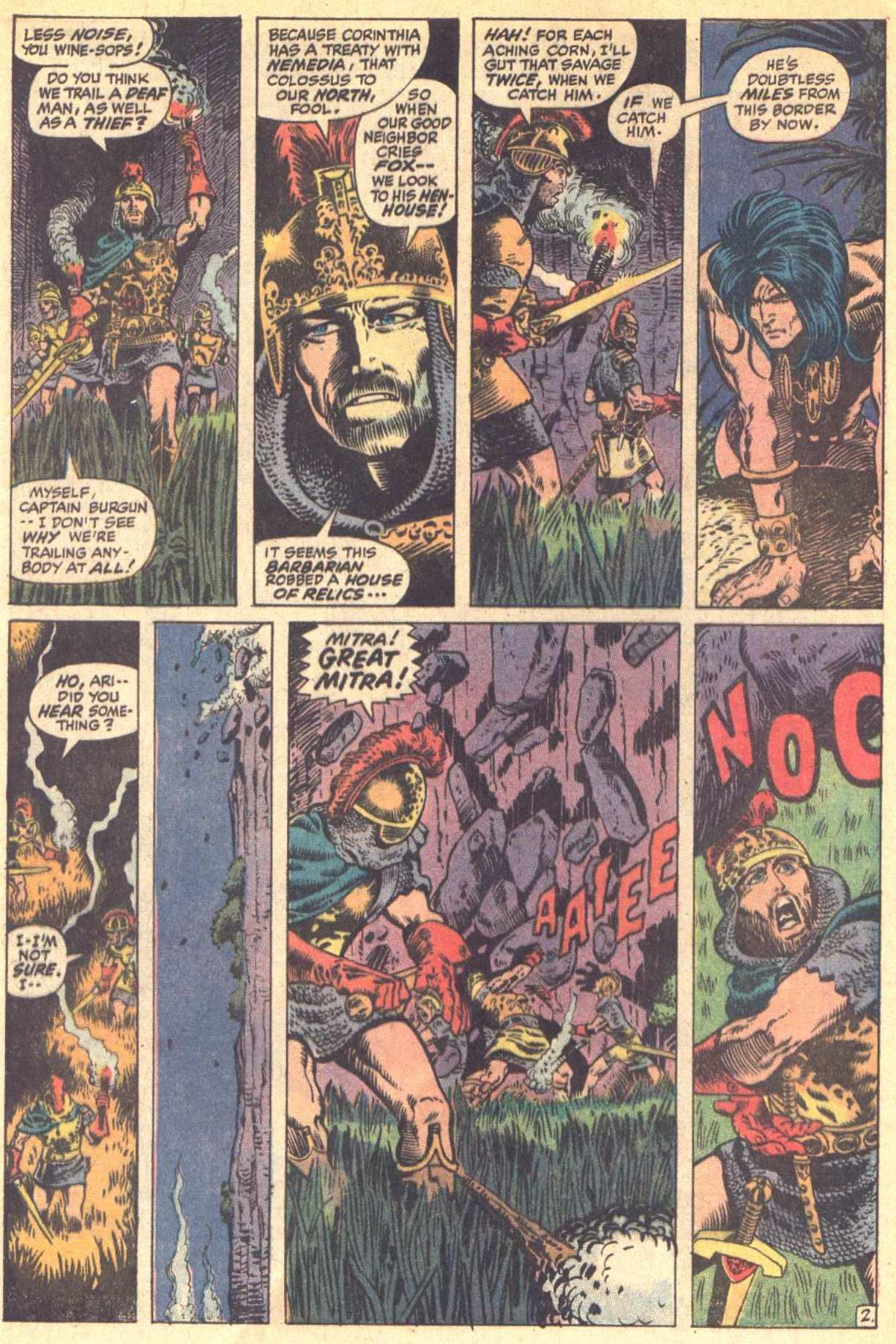 Conan the Barbarian (1970) Issue #8 #20 - English 3