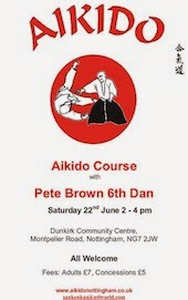 Peter Brown Sensei in Nottingham
